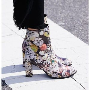 Free people floral boots